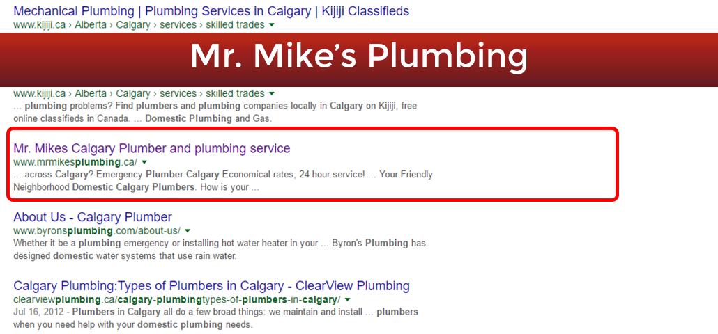 Find Plumber in Calgary
