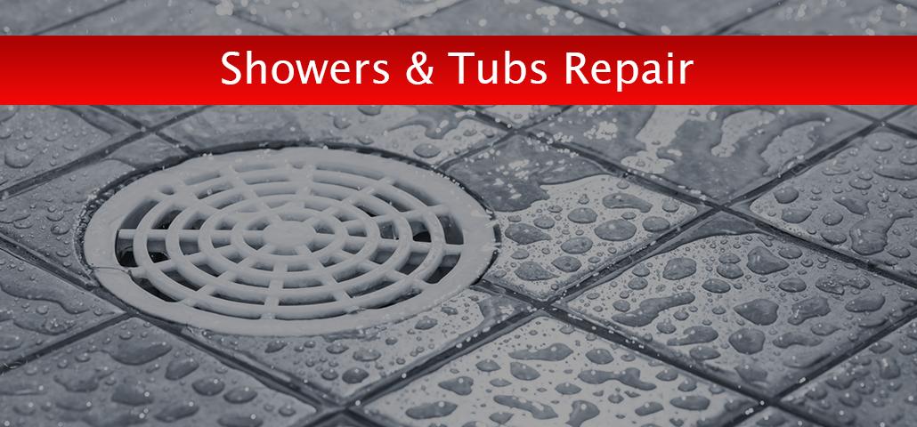 Showers & Tubs Repair Calgary