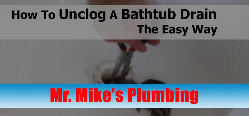 How to Unclog Bathtub Drains