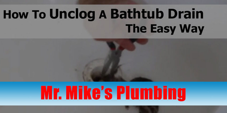How to Unclog Bathtub Drains