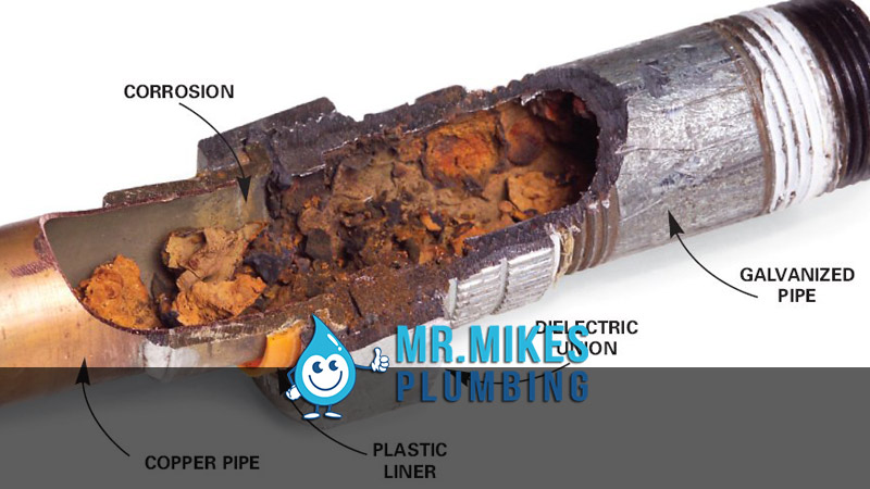 Galvanized Steel Pipes Replaced