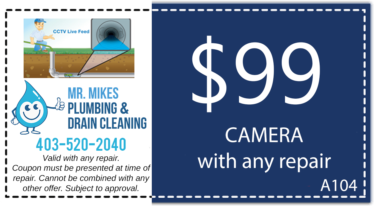 Mr. Mikes Plumbing CCTV Camera Inspection Discount Coupon