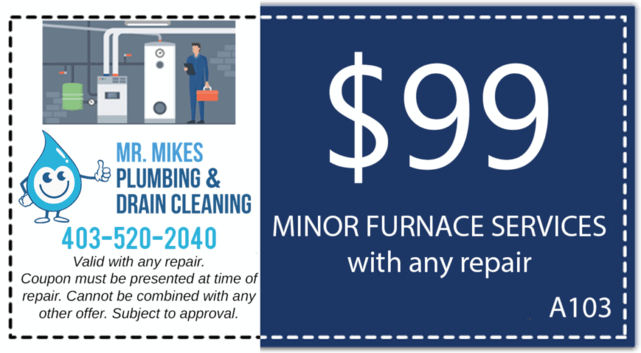 Mr. Mikes Plumbing Furnace Repair Discount Coupon