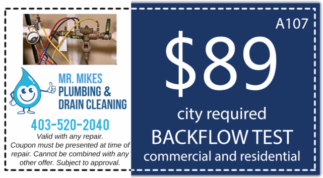 Mr. Mikes Plumbing Backflow Test Discount Coupon