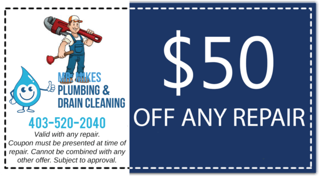 Mr. Mikes Plumbing Repair Discount Coupon