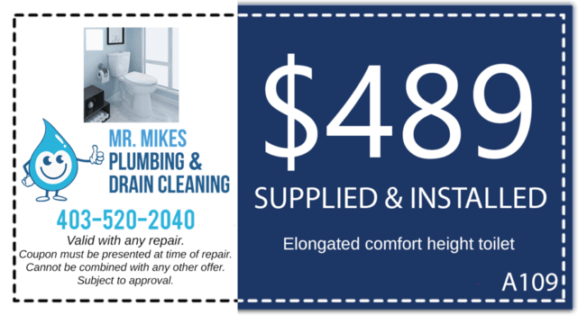 Mr. Mikes Plumbing & Drain Cleaning Coupon